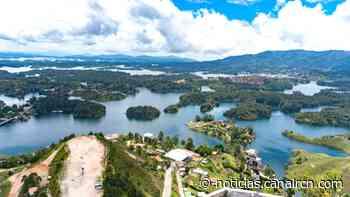 El triste panorama en la represa de Guatapé por acumulación de basura - Noticias RCN