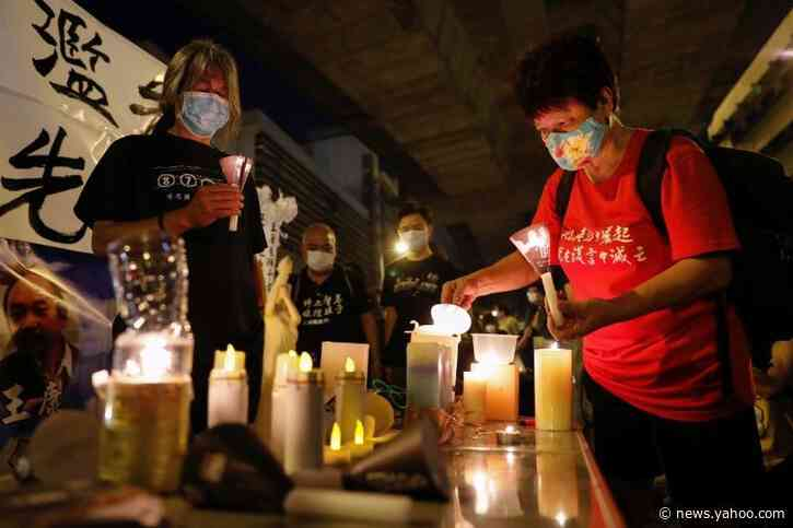 Hong Kongers to mark Tiananmen anniversary with candles, online vigil