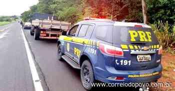 Caminhão com placas de Carlos Barbosa é flagrado com 1,2 tonelada de maconha no Mato Grosso do Sul - Jornal Correio do Povo