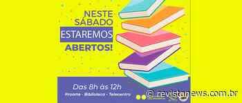 Proarte de Carlos Barbosa atenderá aos sábados — Revista News - Revista News