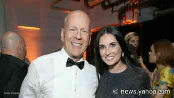 Demi Moore spends Mother's Day with ex Bruce Willis and their blended family - Yahoo News