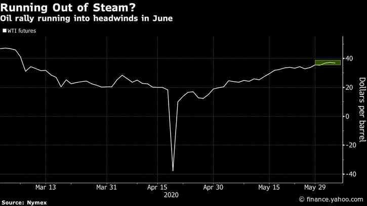 Oil Slips With OPEC+ Discord and U.S. Demand Data Sowing Doubt