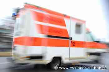 Filderstadt: Motorradfahrer bei heftigem Crash mit Auto schwer verletzt - esslinger-zeitung.de