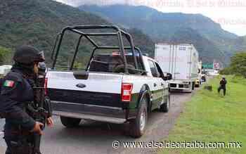 Asegura SSP 2 vehículos abandonados - El Sol de Orizaba