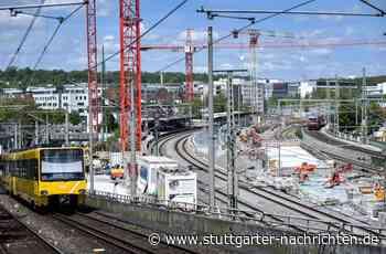 Schienenverkehr in der Region Stuttgart - Land will neuen Bahntunnel im Norden - Stuttgarter Nachrichten