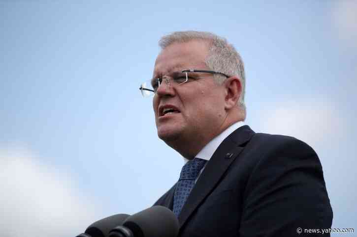 'Get off the grass!' Australian PM told to move on during stimulus announcement