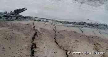 Alerta por aparición de grietas en el volcán del lodo de Arboletes, Antioquia - Semana.com