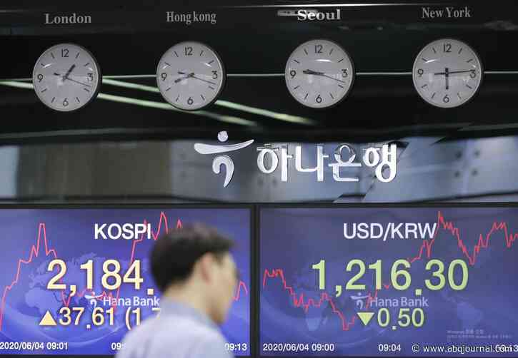 Asian markets higher after Wall St rises on better US data