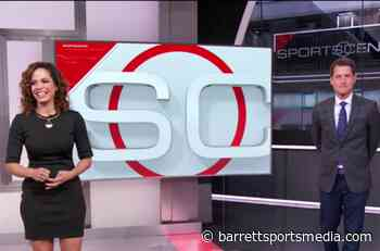 Matt Barrie & Elle Duncan Talk About Police Experience On SportsCenter - Barrett Sports Media