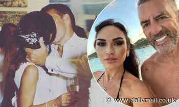 Duncan Bannatyne's wife Nigora, 40, kisses husband, 71, in sweet throwback from their wedding - Daily Mail