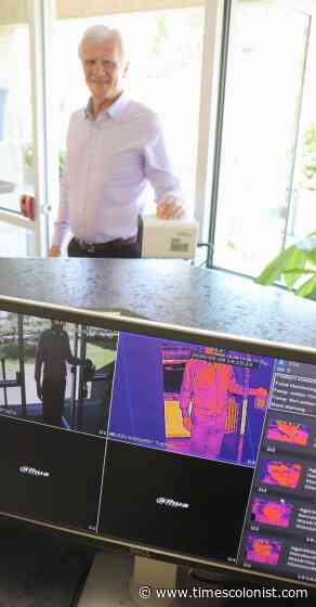Duncan school adds thermal image scanner - Times Colonist