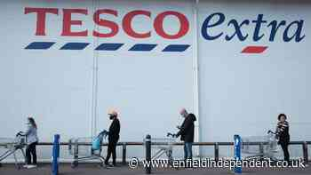 Tesco's new rule for queuing up when it's raining - Enfield Independent