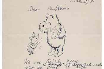 Winnie the Pooh letter to go under the hammer - Enfield Independent