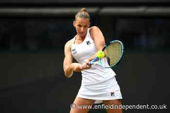 Karolina Pliskova wins as tennis returns in rainy Prague - Enfield Independent