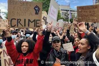 Black Lives Matter protest closes down Belfast city centre - Enfield Independent