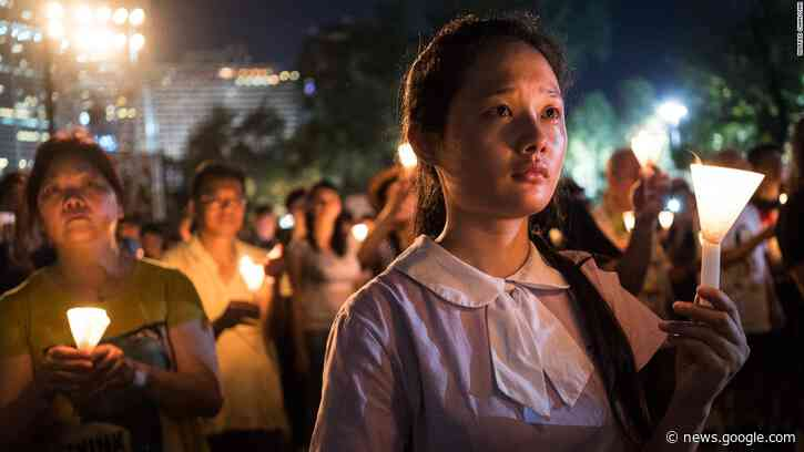 Hong Kong marks Tiananmen massacre for what many fear will be the last time - CNN