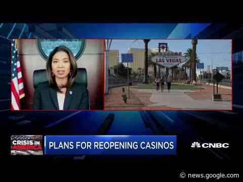Casinos reopen in Las Vegas - CNBC Television