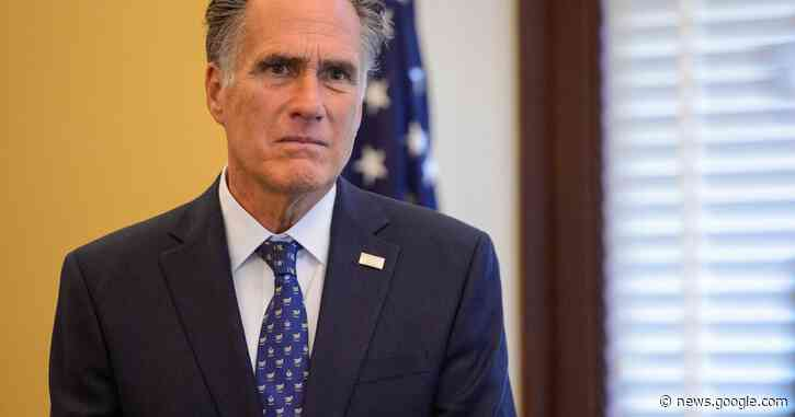 Sen. Mitt Romney criticizes President Trump for clearing 'nonviolent' protesters for a 'photo op' - Salt Lake Tribune