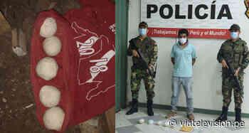 Saposoa: detienen a sujeto con más de un kilo y medio de droga - VIA Televisión