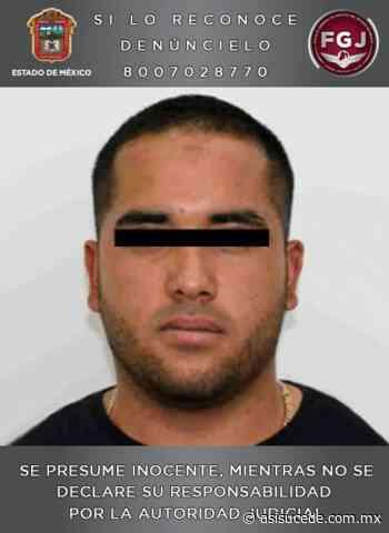 Aprehenden eh Hidalgo a presunto líder de banda delictiva de Zumpango y Tecámac - Noticiario Así Sucede