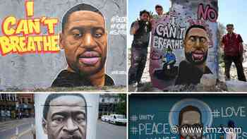 George Floyd Murals and Tributes Around the World