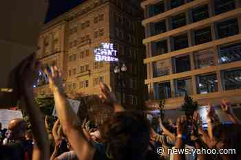 The Latest: New Orleans police use tear gas on protesters