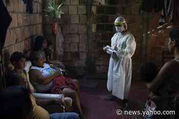 The Latest: Pakistan, India coronavirus cases, deaths spike