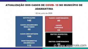 Adamantina tem mais um caso de Covid-19: são 40 registros positivos da doença - Siga Mais
