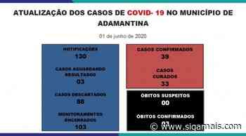 Adamantina registra mais dois casos de Covid-19: agora são 39 casos positivos - Siga Mais