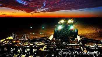 Afterglow over Narrabri plains