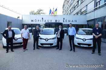 Thonon-les-Bains : Les Hôpitaux du Léman se convertissent aux voitures électriques - Le Messager