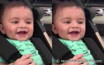 Marilia Mendonça encanta com vídeo de Léo dando risada - QUEM Acontece
