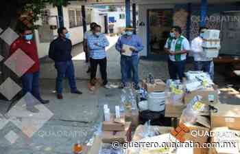 Dona Media Luna a Cocula insumos médicos por más de 300 mil pesos - Quadratin Guerrero