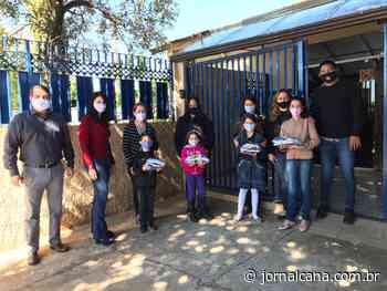 Usina doa 21 mil máscaras à população de Novo Horizonte - JornalCana