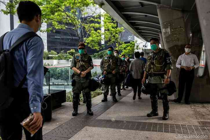 Hong Kong marks Tiananmen crackdown as anthem insults and vigil banned