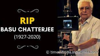 Legendary filmmaker Basu Chatterjee passes away at 93; celebs mourn his sad demise