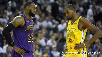 LeBron James and Kevin Durant Have a Rap Song Together! - TalkBasket.net
