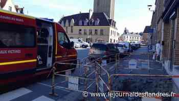 Bergues : elle tombe et se blesse sur un chantier inachevé - Le Journal des Flandres