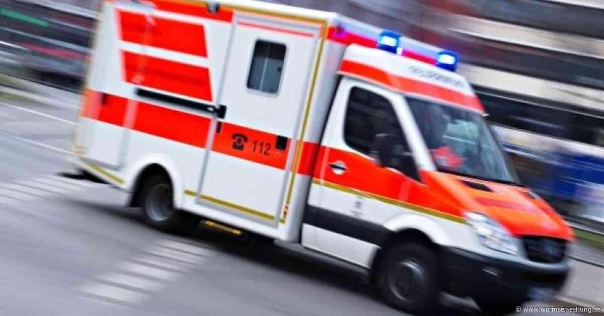 Schwerverletzter bei Unfall auf A61 bei Worms-Mörstadt - Wormser Zeitung