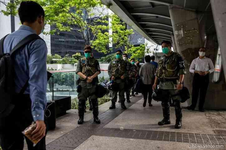 Hong Kong marks Tiananmen crackdown but vigil banned