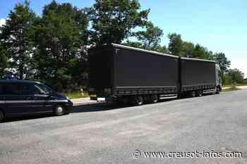 TORCY : 990 euros d'amendes pour un routier polonais qui cumulait 11 infractions - Creusot-infos.com
