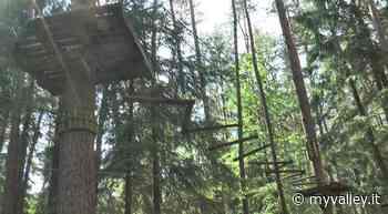 Parco avventura di Clusone, vertigini tutte in sicurezza - MyValley.it