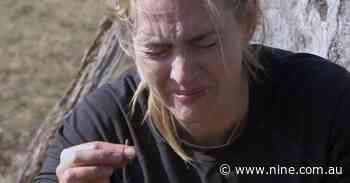 Kate Winslet's shock reaction to eating a worm on Running Wild with Bear Grylls - Nine