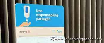 Des bornes de désinfectants déjà vandalisées dans le métro