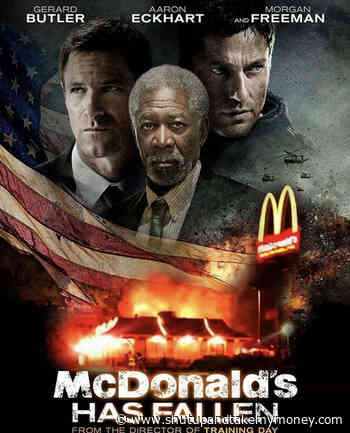 McDonald's Has Fallen Movie Poster – Meme