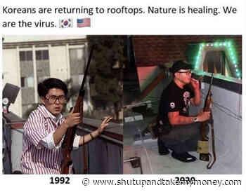 Koreans Are Returning To Rooftops – Meme