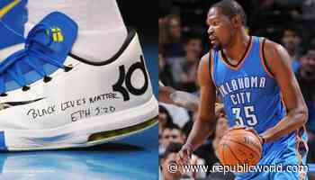 Kevin Durant wrote Black Lives Matter on his sneakers after Eric Garners death in 2014 - Republic World - Republic World