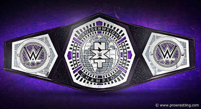 New Interim NXT Cruiserweight Champion Crowned