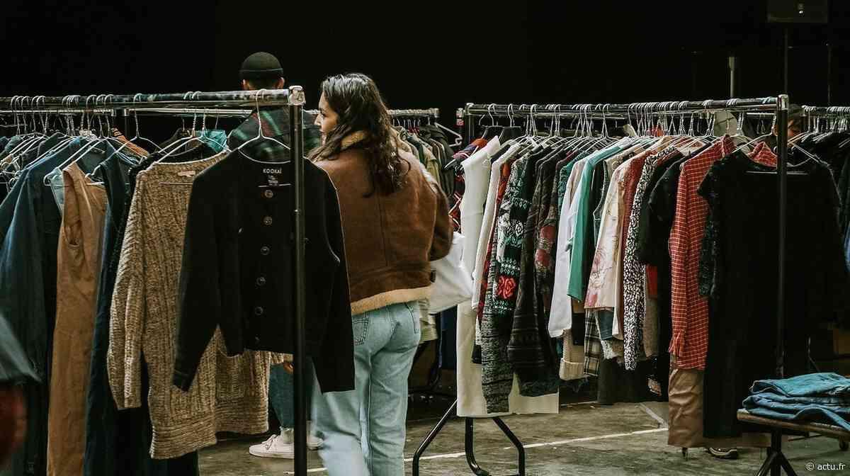 Toulouse. Une vente éphémère de vêtements vintage au kilo organisée au centre-ville - actu.fr