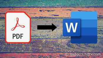 How to Convert PDF to Word for Free